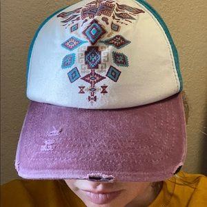 Aztec girls hat